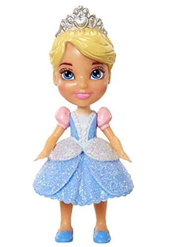 My First Disney Princess Sparkle Collection Mini Toddler Doll Cinderella by Jakks (Princess Disney Toddler)
