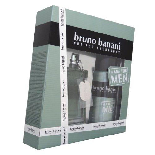 Bruno Banani Not for Everybody Giftset Made for Men EDT Spray 75 ml plus Deodorant Spray 150 ml, 1er Pack (1 x 225 ml)