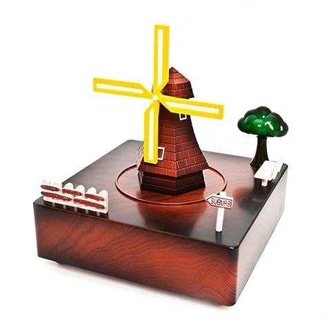 Classic Windmill Music box
