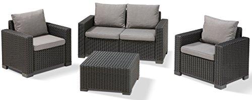 Allibert Lounge California Sofa, graphit/panama cool grau, 141 x 68 x 72 cm, 233051 - 2