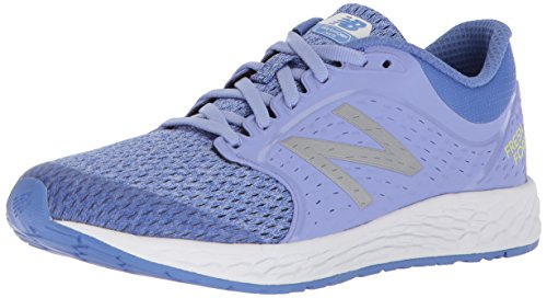 New Balance Girls' Zante v4 Running Shoe, Ice Violet/Twilight, 13 W US Little Kid (New Balance-13w)