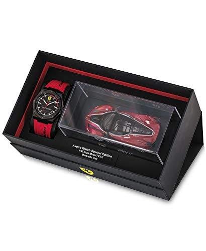 nduhr Aspire, Quarz, Edelstahl und Silikon, Farbe: Rot (Modell: 0870030) ()