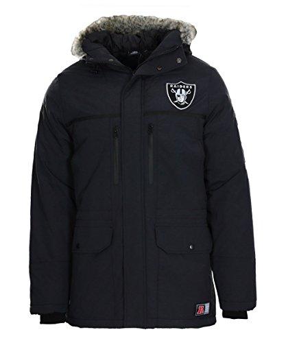 Majestic Oakland Raiders Arctic NFL Parka, M