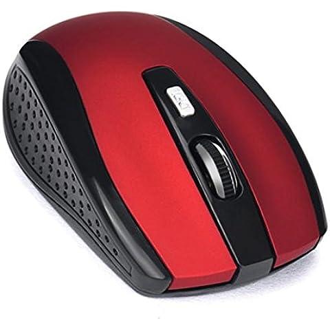 Longra Receptor USB inalámbrico de 2,4 GHz Gaming Mouse Pro Gamer para PC portátil de escritorio
