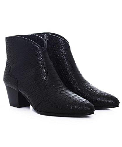 Ash Da Donna Uragano torna taglio Stivali alla caviglia Nero Nero