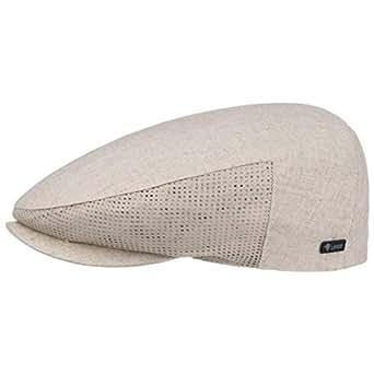 Lipodo Mesh Berretto Piatto in Lino berretti piatti cotton cap ... 8fb2f3be6e5d
