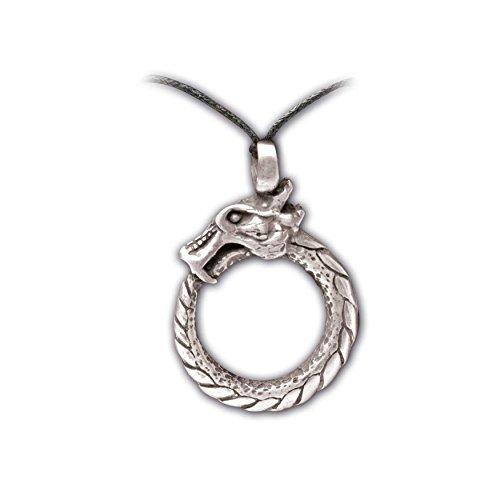 Zoelibat 97209241.112-Gothic Punk Colgante, dragón Ring, 4x 3.5cm