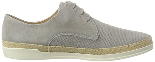 Caprice 23503, Sneakers Basses Femme Gris (Lt Grey Suede)