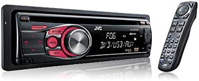 JVC KD-DV5606 Multimedia DVD/CD/USB Receiver with Front AUX (Black)