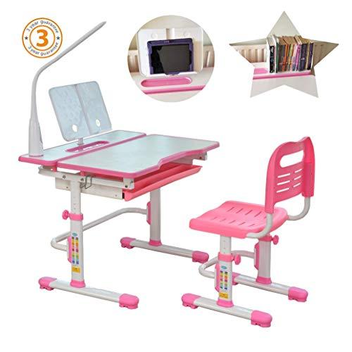80cm Altura Ajustable niños estudio Conjunto escritorio