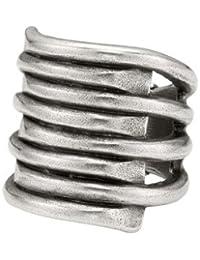 Uno de 50 Tornado - Anillo de plata