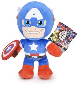 The Avengers - Peluche personnagio del Film Capitan America 30cm qualità Super Soft
