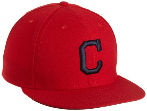 New Era MLB Cleveland Indians Authentique on Field Alternate 59 Fifty, Scarlet
