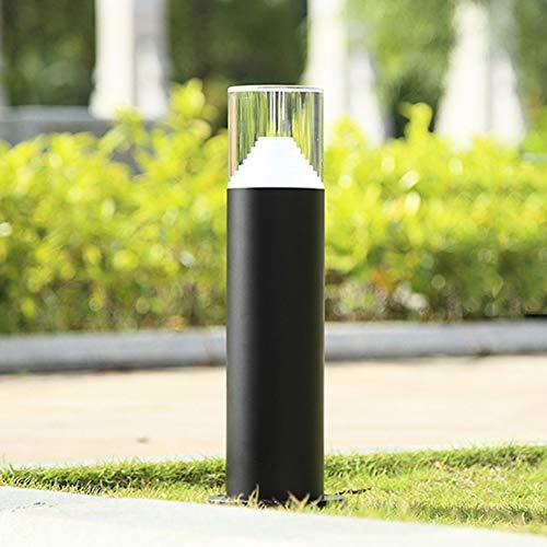 Enchufes jardín lámpara exterior jardín terrazas electricidad de distribución lámpara de acero inoxidable
