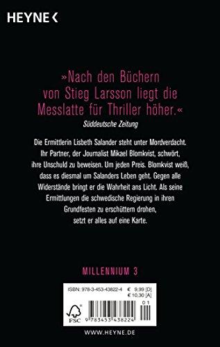 Vergebung: Die Millennium-Trilogie 3 - Roman: Alle Infos bei Amazon