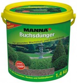 Manna Buchsdünger - 1,4 Kg - Organisch-mineralischer NPK-Dünger 14-5-5 von Manna auf Du und dein Garten
