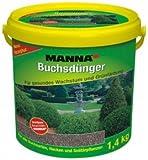 Manna Buchsdünger - 1,4 Kg - Organisch-mineralischer NPK-Dünger 14-5-5