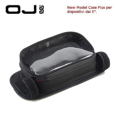 OJ Case Plus pour mBK flipper Porte GPS de guidon moto scooter No Givi