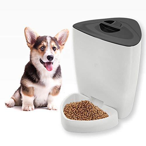 ZZQ Automatische Futterschüssel Mahlzeiten - Katze oder Hund Urlaub Auto Dispenser Bowl -