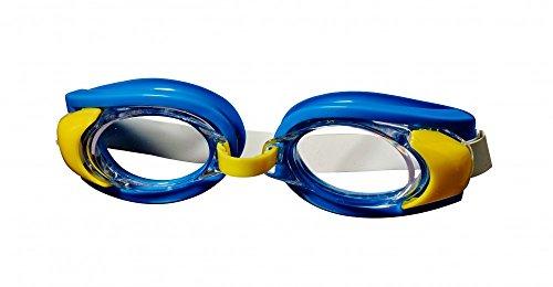 Best Sporting Schwimmbrille Stickleback, blau, grün oder rot, Farbe:blau