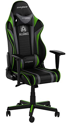 DXRacer (el Original) Racing R59 Gaming Chair Silla para PC/PS4/xbox One, ergonómico Escritorio Silla con Funda, Alliance Edition