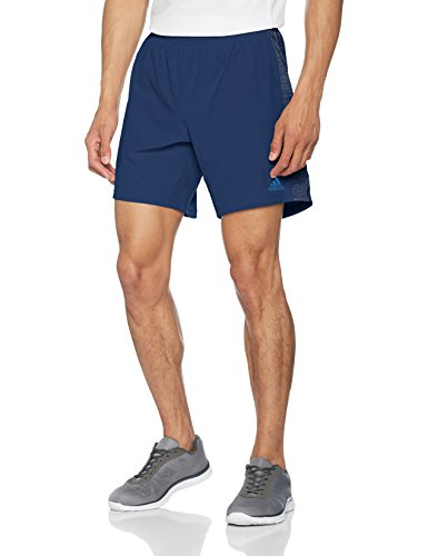Adidas Supernova Running Short (adidas Herren Supernova Shorts, Mystery Blue, XL/7 Zoll)