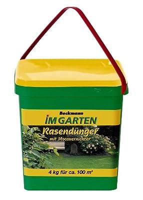Beckmann IMGARTEN® Moosvernichter + Rasendünger 4 kg von Dominik Gartenparadies - Du und dein Garten