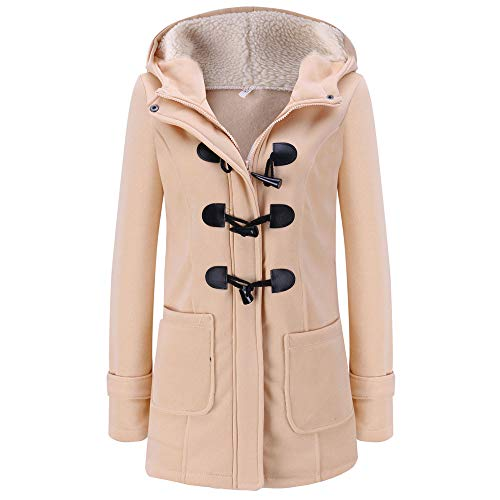 Oberbekleidung Damen Groß Größe Jacke Klassisch Trenchcoat Frauen Kapuzenmantel Slim Fit Steppjacke Hoodies Pullover Btruely -