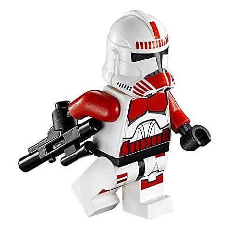 LEGO Star Wars - Minifigur Clone Wars Shock Trooper aus Coruscant Police Gunship 75046