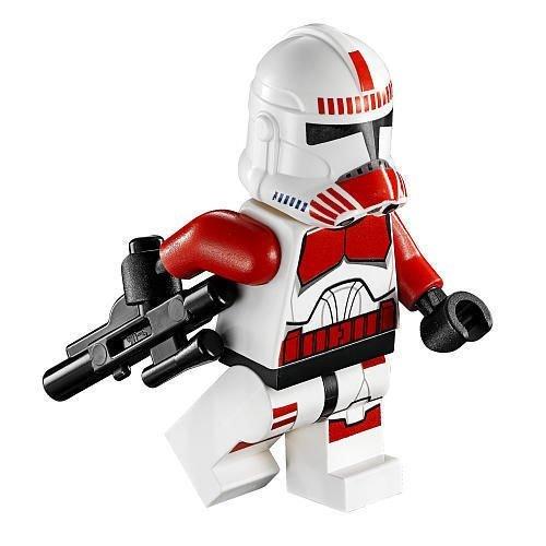 LEGO Star Wars - Minifigur Clone Wars Shock Trooper aus Coruscant Police Gunship ()