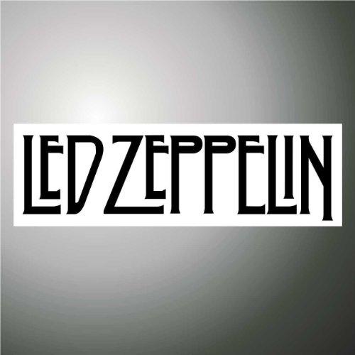 Aufkleber - Sticker Led Zeppelin hip hop rap jazz hard rock metal pop funk sticker