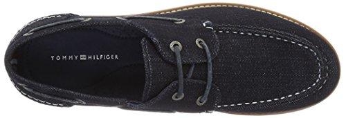 Tommy Hilfiger C2285ase 4f, Chaussures Bateau Homme Bleu (Denim 404)