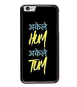 Fiobs Designer Back Case Cover for Apple iPhone 6 (God Bhagvan Temple Dress Sports Typography Spritual)