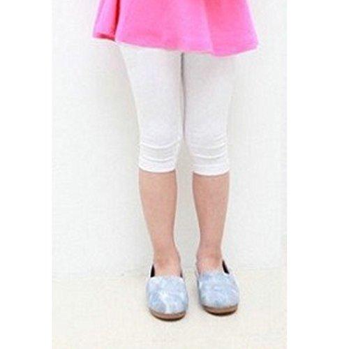 squarex Leggings - Fille blanc blanc AS SHOW