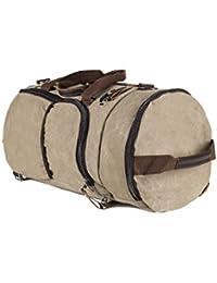 Demidel - Canvas Duffel Bag Gym   Travel   Sports   Backpack For Men Women Fashion