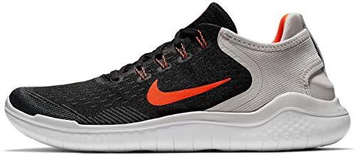 Nike Herren Laufschuh Free Run 2018 Traillaufschuhe, Schwarz (Nero/Total Crimson/Vast Grigio 005), 46 EU