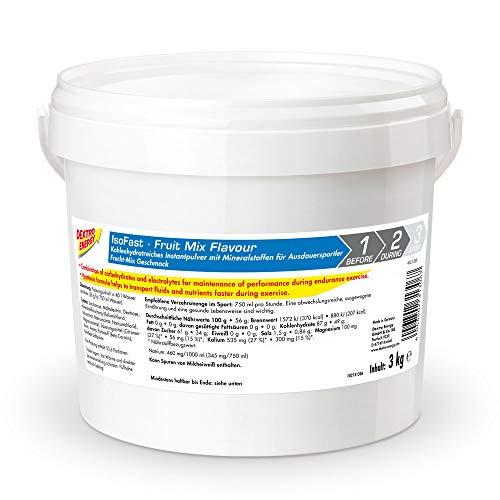 Sportdrink Pulver von Dextro Energy | 3000g Hypotonisches Getränke Pulver Fruit Mix | Iso Fast Pulver | Isotonische Getränke Alternative -