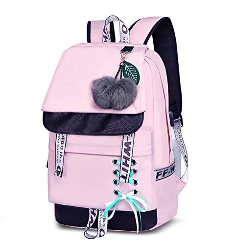 Asge Schulrucksack Mädchen Schulranzen Jungen Schultasche mit...
