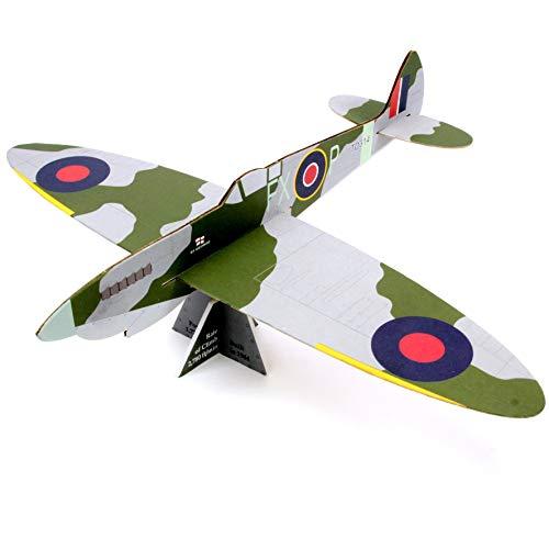 Spitfire Mk IXe: Prestige-Modelle Freiflug-Balsaholz-Modellflugzeug -