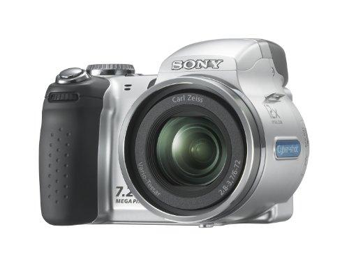 Sony Cyber-shot DSC-H5 Digitalkamera (12fach optischer Zoom, 7 Megapixel) silber