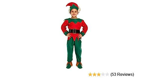 Girls Elf Costume Child Christmas Santas Little Helper Fancy Dress Kids Age 4-12