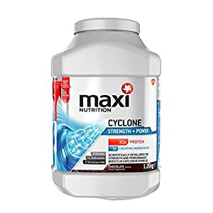 MaxiNutrition Cyclone Strength and Power Protein Shake Powder - 1.26 kg, Chocolate