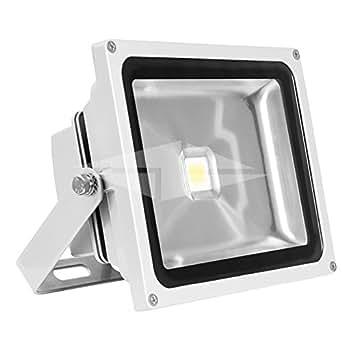 50w LED Charpente Grise 4200K 120 Degrés Angle de rayonnement - Classification IP44 - luminaire - Projecteur (Lumineux 400377HJ)