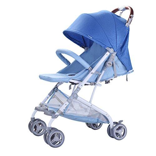 Peixia Department Store Kinderwagen High Landscape Kinderwagen Klapp-Kinderwagen Geeignet für 0-36 Monate Baby Buggy Stroller Babywagen (Farbe : 1#)