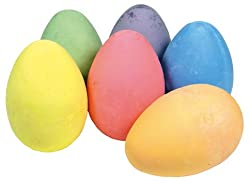 Straßenmalkreide Eier