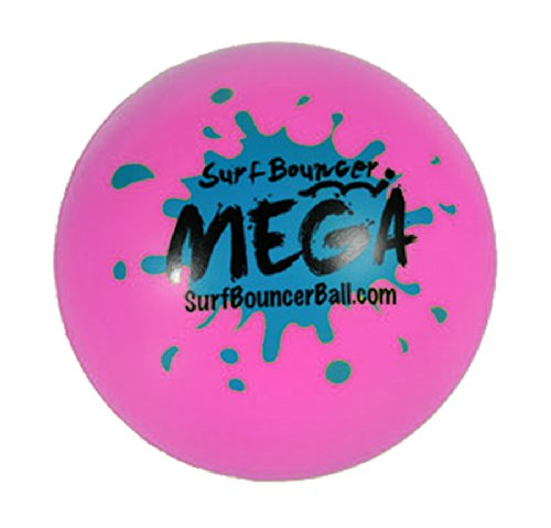 Soft Springball Surf Bouncer ca. 8,5 cm in Box Wasserball Spiel Ball ab 1 Jahr: Farbe: Pink (Soft Bouncer)