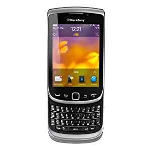BlackBerry Torch 9810 Smartphone 8GB (8,1 cm (3,2 Zoll) Touchscreen, QWERTZ-Tastatur, 5 Megapixel Kamera) zinc grey