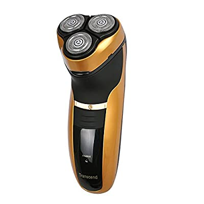 Denshine Men's Rechargeable Triple Blade Electric Shavers Razor 3D Pop-up Trimmer 8 Hour Charge from Denshine