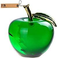 H y D cristal Apple Pisapapeles boda decoración para el hogar