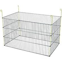 Zolux rectangular Parque Metal Exterior para roedores gris 101x 60x 61cm